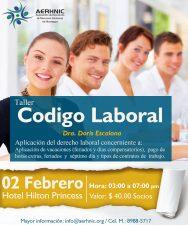 Código Laboral por la Dra. Doris Escalona