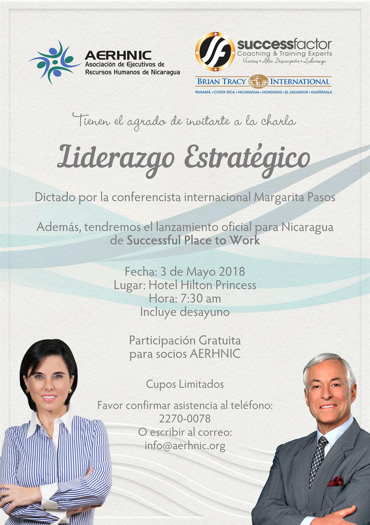 Liderazgo Estratégico con Margarita Pasos