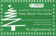 Bazar Navideño CONANCA 2012