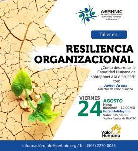 Taller de Resiliencia Organizacional