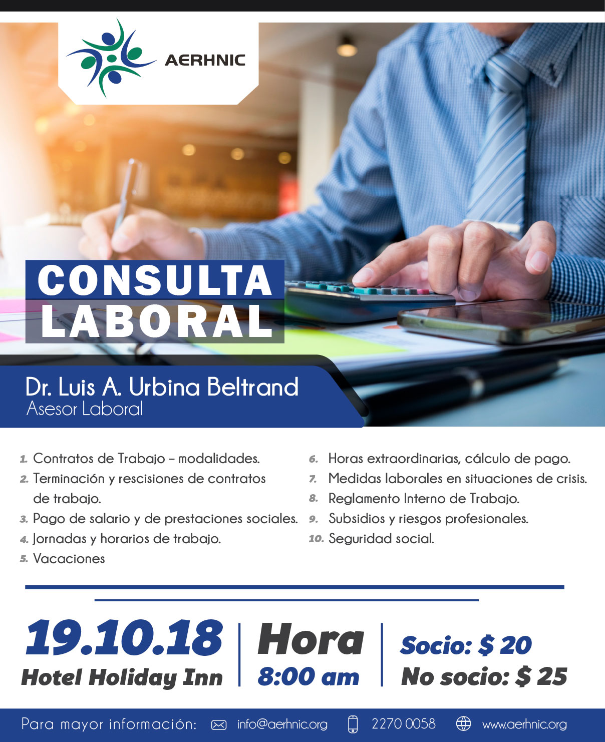 Consulta Laboral Holiday Inn