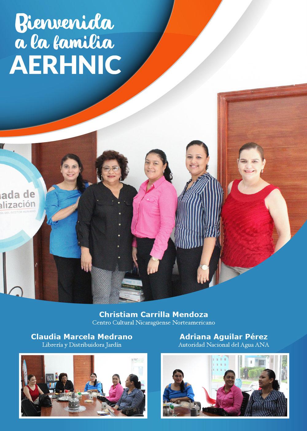 Nuevos Miembros AERHNIC
